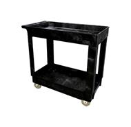 Rubbermaid 9T66 2 Shelf Utility Cart, 5 (12.7 cm) Casters