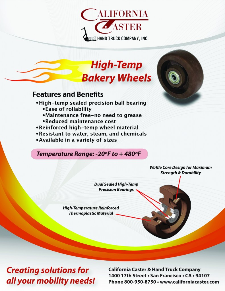 High-Temp Bakery Wheels